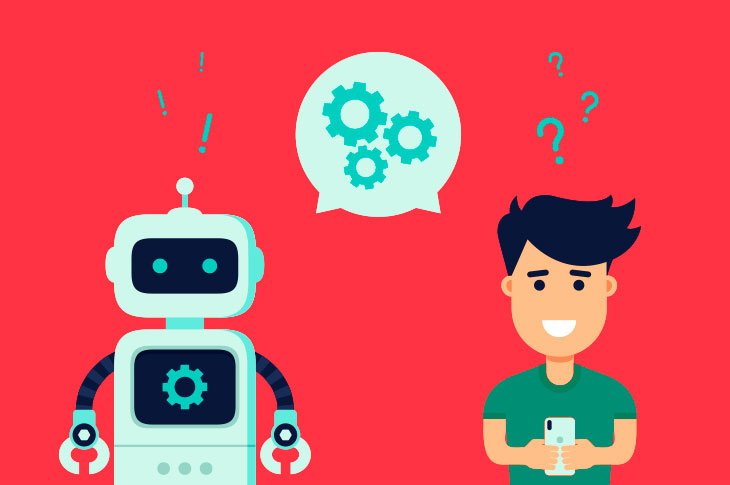 Removing the human interaction with the help of artificial intelligence: